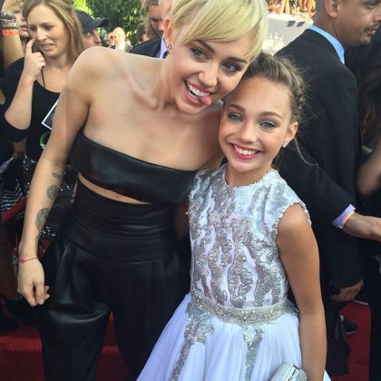 Maddie got to meet her absolute idol, Miley Cyrus, at the MTV Video Music Awards 2014. So yeah, with this one fact alone, Maddie's life is way better than yours—and, let's be real, better than ours too. (Photo: Instagram)