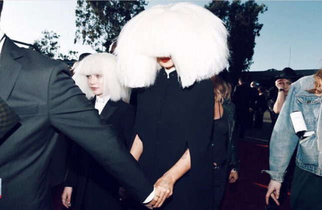 """While we are known for being our mamma's darling, Maddie has raised to fame as Sia's muse. She's star in two music videos for the singer, """"Chandelier"""" and """"Elastic Hart"""", and was the face for her Christmas album. (Photo: Instagram)"""