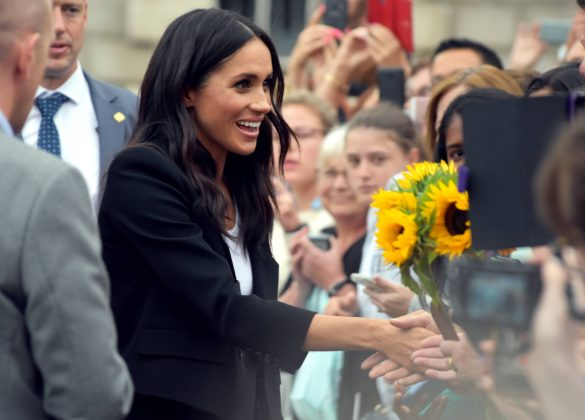 Meghan is a big fan of helping others. After being involved in charity work for a long time, she has the ability to put the needs of others ahead of her own. Pretty much a requirement as a mom. (Photo: WENN)