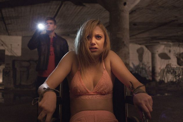 """It Follows""— After a seemingly innocent sexual encounter, Jay finds herself plagued by strange visions and the inescapable sense that someone, something, is following her. Faced with this burden, Jay and her friends must find a way to escape the horrors, that seem to be only a few steps behind. (Photo: Release)"