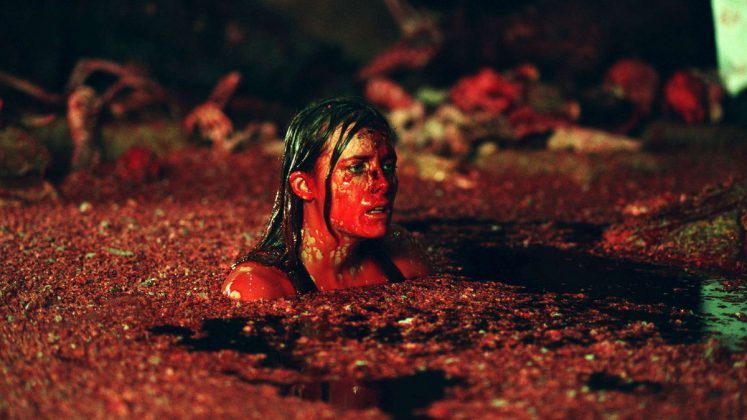 """The Descent""— A woman goes on vacation with her friends after her husband and daughter encounter a tragic accident. One year later she goes hiking with her friends and they get trapped in a cave. As they struggle to survive, they meet strange blood thirsty creatures. (Photo: Release)"