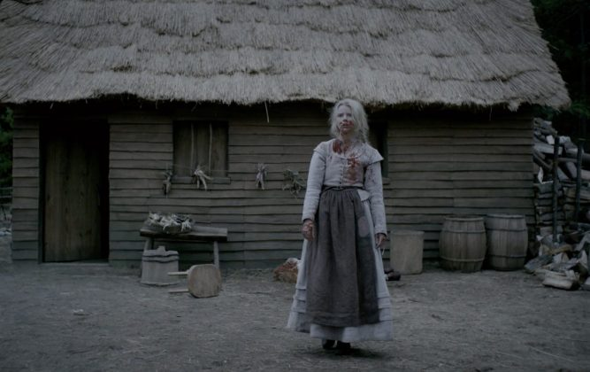 """The Witch""— William and Katherine try to lead a devout Christian life in New England, 1963, homesteading on the edge of an impassible wilderness, with five children. When their newborn son mysteriously vanishes and their crops fail, the family begins to turn on one another. (Photo: Release)"