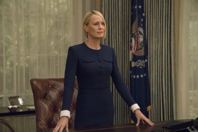 "Claire Underwood will say goodbye on the sixth and final season of ""House Of Cards"" which will premiere on Netflix on November 2. (Photo: Disclosure)"