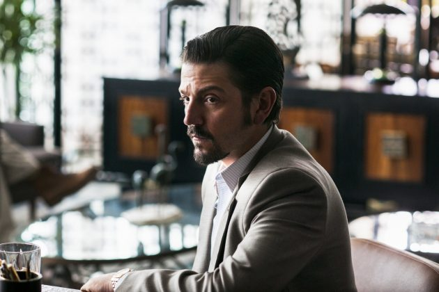 "The new season of ""Narcos,"" now located in Mexico and starring Diego Luna and Michael Pena, opens on November 2. (Photo: Disclosure)"