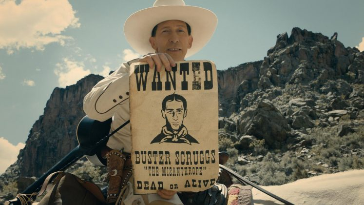 "The comedy ""The Ballad of Buster Scruggs,"" with a cast that includes James Franco, David Krumholts, and Liam Neeson, will arrive on Netflix on November 16. (Photo: Disclosure)"