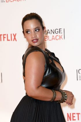 """It's time for us to really evaluate ourselves in the mirror and say, 'This is OK. I can too bring out any quality. I can too be on the cover of any magazine, just the way I am.'"" Dascha Polanco. (Photo: WENN)"