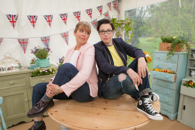 The Great British Bakeoff survived even when it lost its beloved judge, Mary Berry, and pun-factory hosts Sue Perkins and Mel Giedroyc. Season eight is still fundamentally the same show—and it's just as entertaining. (Photo: Release)