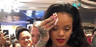Click through to see the best reactions to RiRi's self-memefication. Rihanna feels attacked, but the Navy is feeling despaired. (Photo: Instagram)