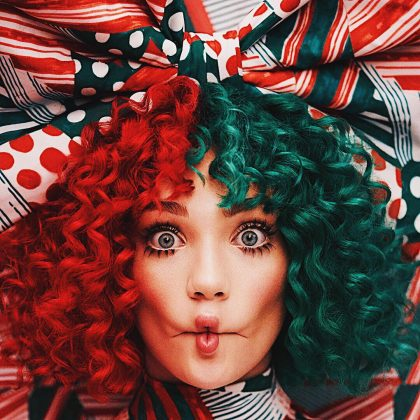 Las year, Maddie Ziegler was the face for Sia's Christmas album. (Photo: Instagram)