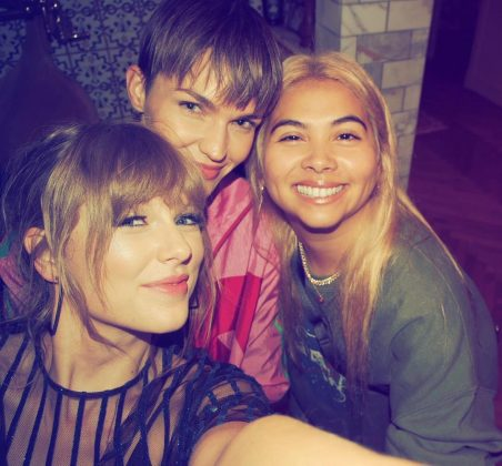 """Ruby Rose, Hayley Kiyoko and Taylor swift celebrated """"so many amazing things"""" they lost count. (Photo: Instagram)"""