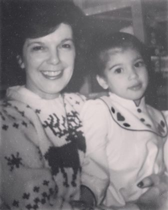 Baby Kimmy and her grandma MJ. (Photo: Instagram)