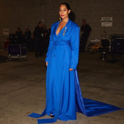 A blue note by Tracee Ellis Ross. (Photo: Instagram)