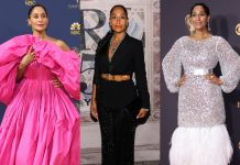 Here ate 10 pictures of Tracee Ellis Ross' style that prove the Black-ish star is the fashion icon we've been waiting for. (Photo: WENN)