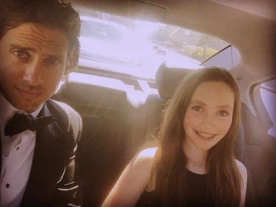 He just became Apple and Moses' step-father. But Falchuk has two children of his own. He is father to Isabella and Brody. The proud father doesn't mind sharing an occasional photo with his kids on social media. He even took Isa for his date for the Emmys in 2016! (Photo: Instagram)