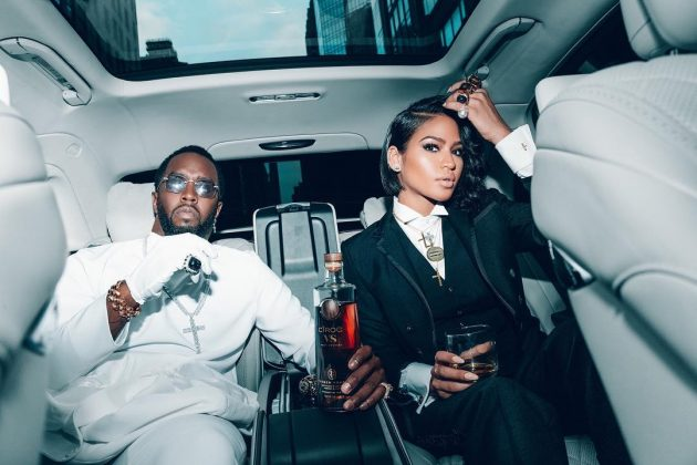 "Diddy and Cassie's love story began when he heard ""Me & U"" in a night club and was trying to find out who the artist was. Diddy then signed her on to his label, Bad Boy Records. (Photo: Instagram)"