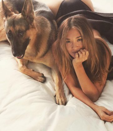 Modeling isn't her only passion. Chew loves animals so very much that she has actually said that if she weren't a model she would be a veterinarian or a marine biologist! (Photo: Instagram)