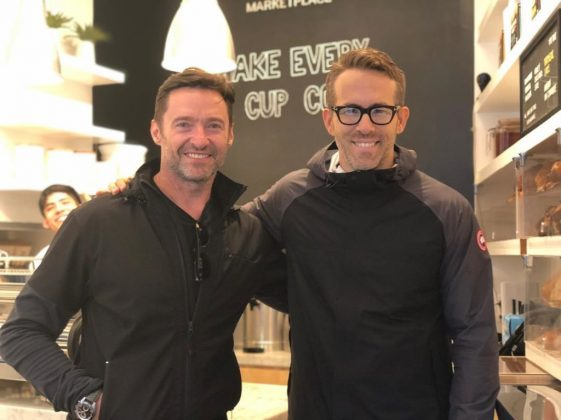 He's loved by celebrities. Hugh Jackman's millions of fans include some of your favorite celebrities. Like Ryan Reynolds, with whom Hugh has had a bromance since they firt met while filming X-Men Origins. (Photo: WENN)