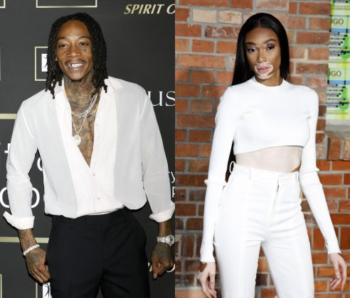 Wiz Khalifa confirms he's dating Winnie Harlow. (Photo: WENN)