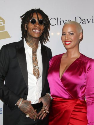 Wiz's new lady love has the approval from his ex-wife Amber Rose. (Photo: WENN)