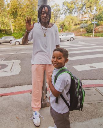 Wiz Khalifa and Amber Rose share a five-year-old son, Sebastian. (Photo: Instagram)