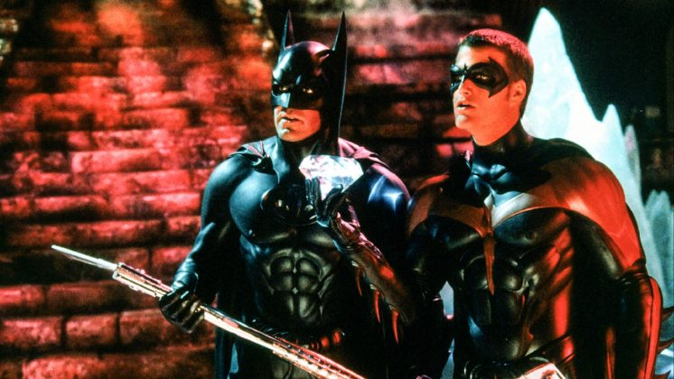 "George Clooney's ""Batman and Robin"" is considered by many the worst of all Batmans. That scene in which they play hockey against Mr. Freeze's henchmen (played by Arnold Schwarzenegger, btw) can't be unseen. (Photo: Release)"