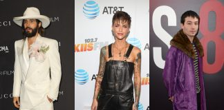 Prepare to be amazed by the pleasant curiosity of these stunningly beautiful androgynous celebrities. (Photo: WENN)