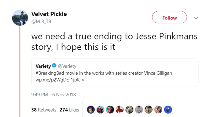 In what universe is his ending in the show not true? (Photo: Twitter)