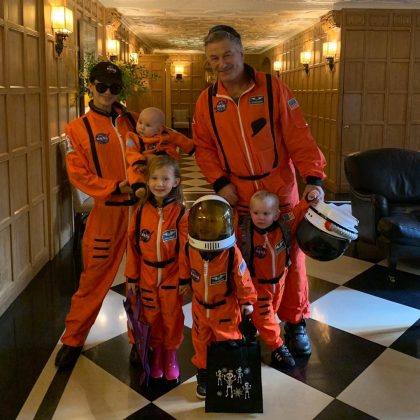 The Baldwinitos dressed up as astronauts was out of this world! (Photo: Instagram)