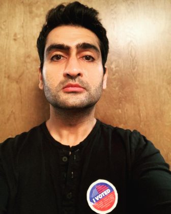Kumail Nanjiani voted early and made sure to show it on Instagram. (Photo: Instagram)