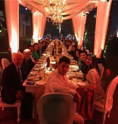 Priyanka and Nick had a very special Thanksgiving in India with the actress' family. (Photo: Instagram)