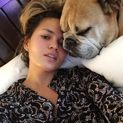 "Because Chrissy's dogs get their individual ""mommy time"" just like her own kids. (Photo: Instagram)"