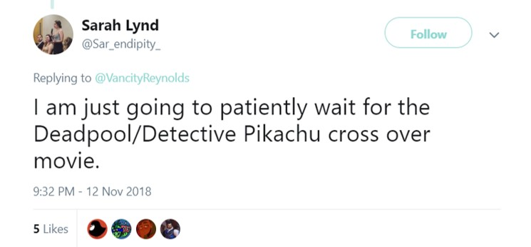 This I'd be happy to watch. (Photo: Twitter)
