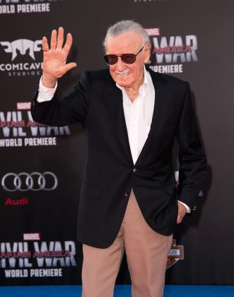 "Before writing about superheroes, Stan Lee wrote antemortem obituaries for celebrities in New York. He said that he eventually quit that job because it was too ""depressing."" (Photo: WENN)"