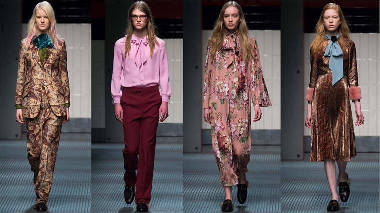 Gender fluid fashion received a major boost in 2015 when the designer Alessandro Michele made his debut at Gucci in time for the Autumn / Winter range. (Photo: Gucci A/W_15-16/Release)