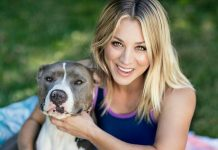 Click to see 17 pictures that prove Kaley Cuoco's love for animals knows no boundaries—just like our love for her. (Photo: Instagram)