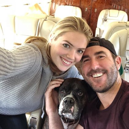 Kate Upton and Justin Verlander began dating in 2014. (Photo: Instagram)