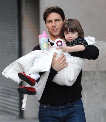 The former couple have a 12-year-old daughter together, Suri Cruise. (Photo: WENN)