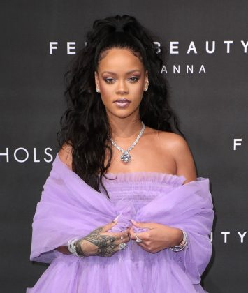 Courtesy of Fenty Beauty, Rihanna came in number seven with $37.5 million. (Photo: WENN)