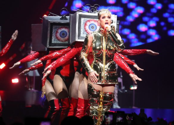 Katy Perry's Witness tour included 80 dates and average $1 million per night. (Photo: WENN)
