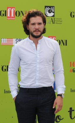 Vlasova also posted photos that seem to show a nude Harington on a hotel bed. (Photo: WENN)