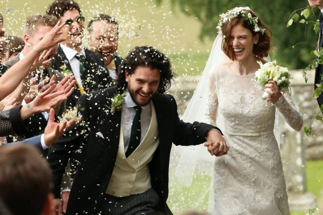 Kit Harington and Rose Leslie tied the knot this June in a star-studded ceremony. (Photo: WENN)