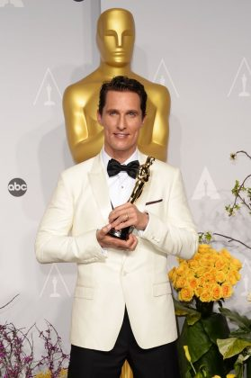 That year, McConaughey won an Oscar for Best Actor for his role as Ron Woodroof. (Photo: WENN)