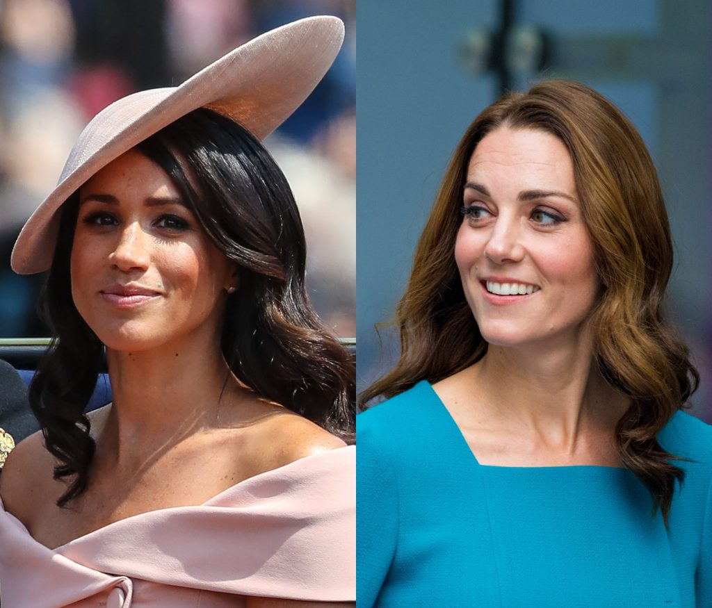 Rumor Has It Meghan Markle And Kate Middleton Are Not
