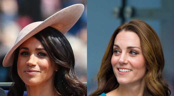 Rumor has it Meghan Markle and Kate Middleton are not getting along. (Photo: WENN)