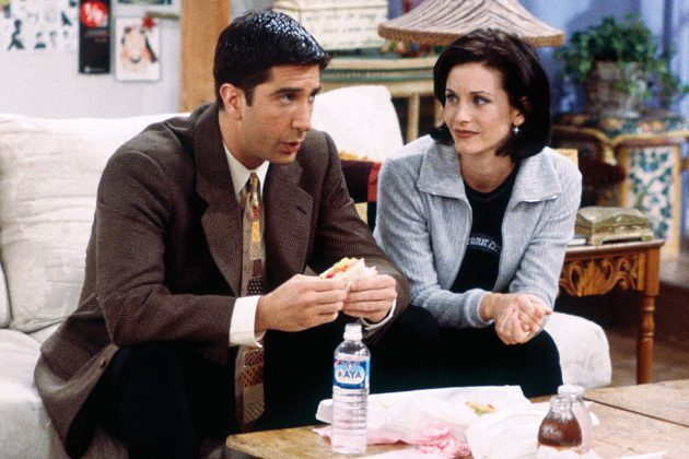 Because he was constantly putting Monica down. Sure, brothers and sisters make fun of each other. But Ross love to rib on Monica on sensitive subjects, like the fact that she was heavier in the past, or that her parents basically didn't like her. (Photo: Release)