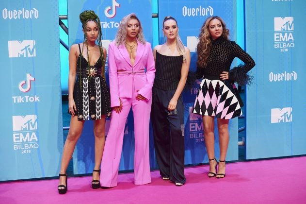 "Simon Cowell claims Little Mix didn't want to record their latest single, ""Woman Like Me."" (Photo: WENN)"