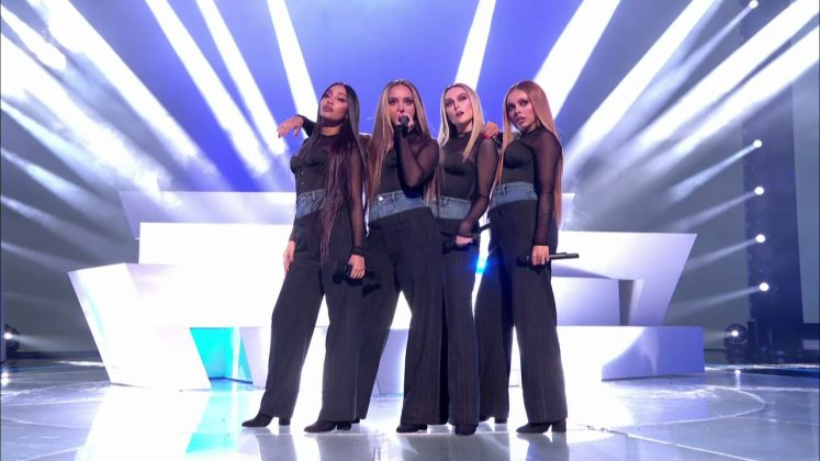 Despite their feud, Little Mix will still make an appearance on The X Factor final next month. (Photo: WENN)