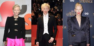 In honor of her 58th birthday, here are 10 times Tilda Swinton's style has been the androgynous fashion icon we never knew we needed. (Photo: WENN)