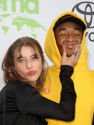 18-year-old actress Odessa Adlon, who has guest-starred on Nashville, and Jaden Smith began dating in late 2017. The young couple didn't hesitate a bit to pack the PDA on social media until their breakup in sometime around summer 2018. (Photo: WENN)
