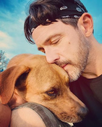 """He loves his dogs! According to his Instagram. Steve is totally a doting dog-dad. In fact, he embraces it. """"I know that all I post are pictures of my dogs. I am okay with this fact,"""" he captioned one picture of—yes, you guessed it—his dog. (Photo: Instagram)"""